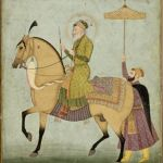 The_Emperor_Aurangzeb_on_Horseback_ca._1690–1710_The_Cleveland_Museum_of_Art