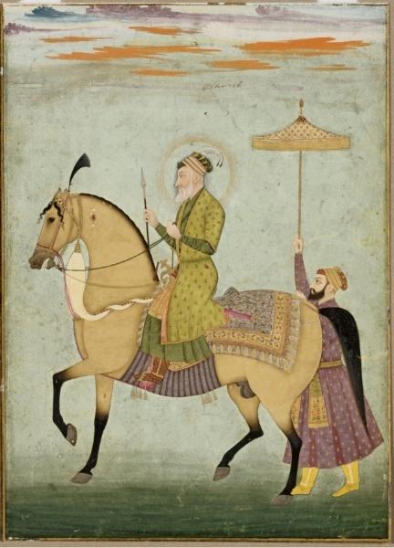 The_Emperor_Aurangzeb_on_Horseback_ca._1690–1710_The_Cleveland_Museum_of_Art