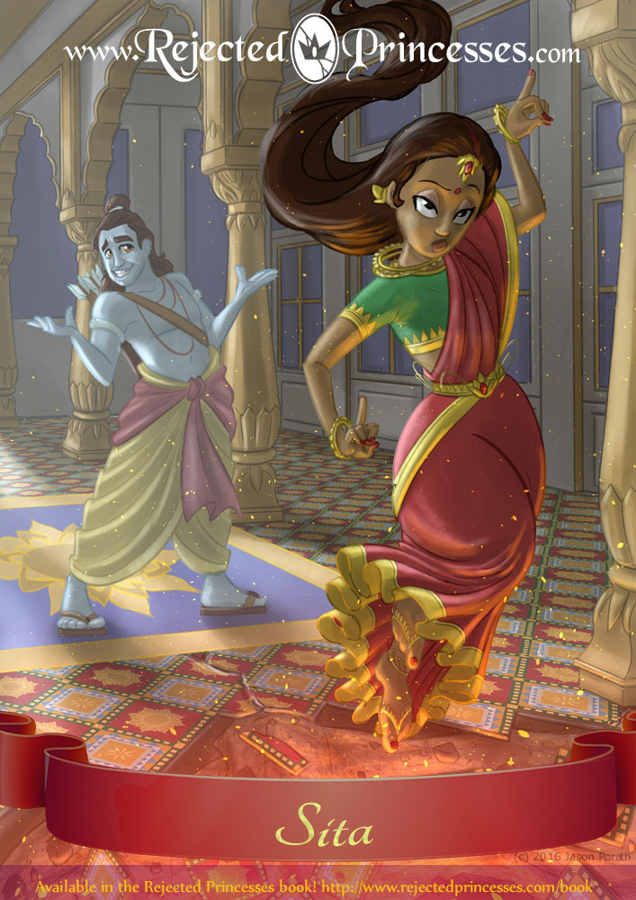 Sita The Princess Who Leapt Into A Pit
