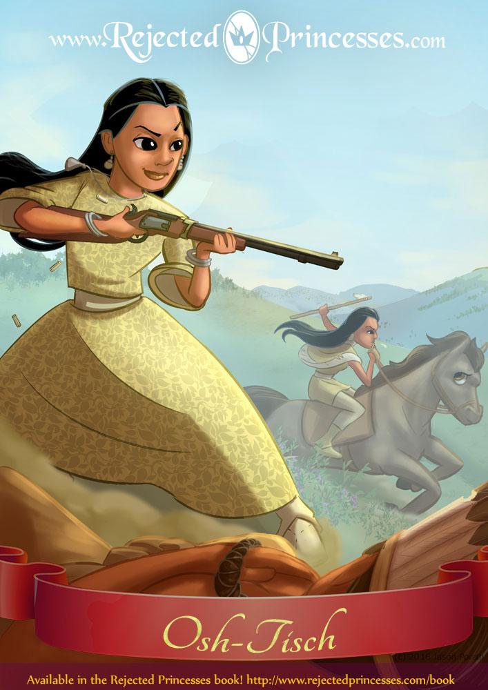 Osh-Tisch: Princess of Two Spirits