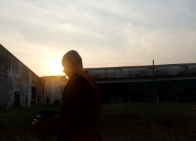 A Thai buddhist nun [not Lumchuan] (via Al Jazeera)