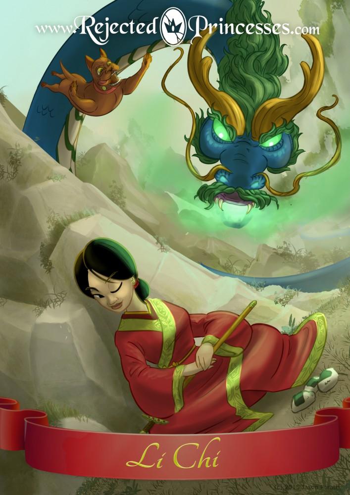 origin of chi li slays the serpent