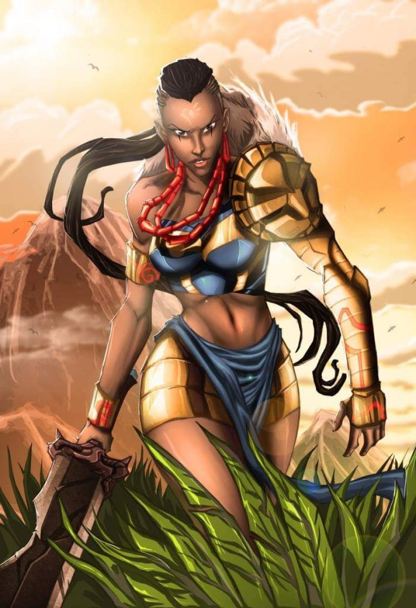black girl superhero comic