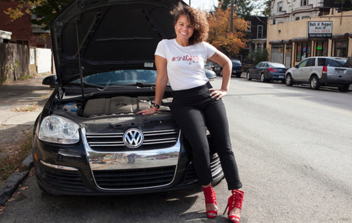patrice banks  founder of girls auto clinic