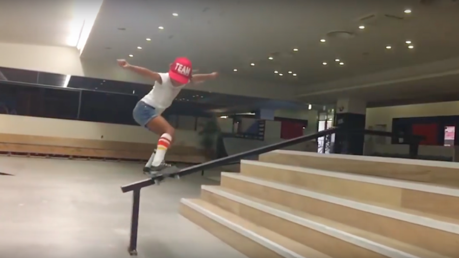 sky-brown-skateboarder