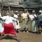 Elderly Kenyan women learning self-defense