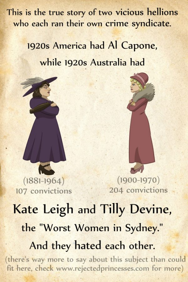 Kate Leigh and Tilly Devine: The Queens of the Sydney Underworld