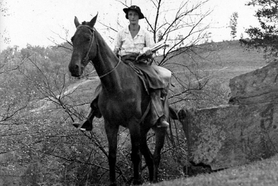 Horse Riding Lady Librarians Were The Great Depression S