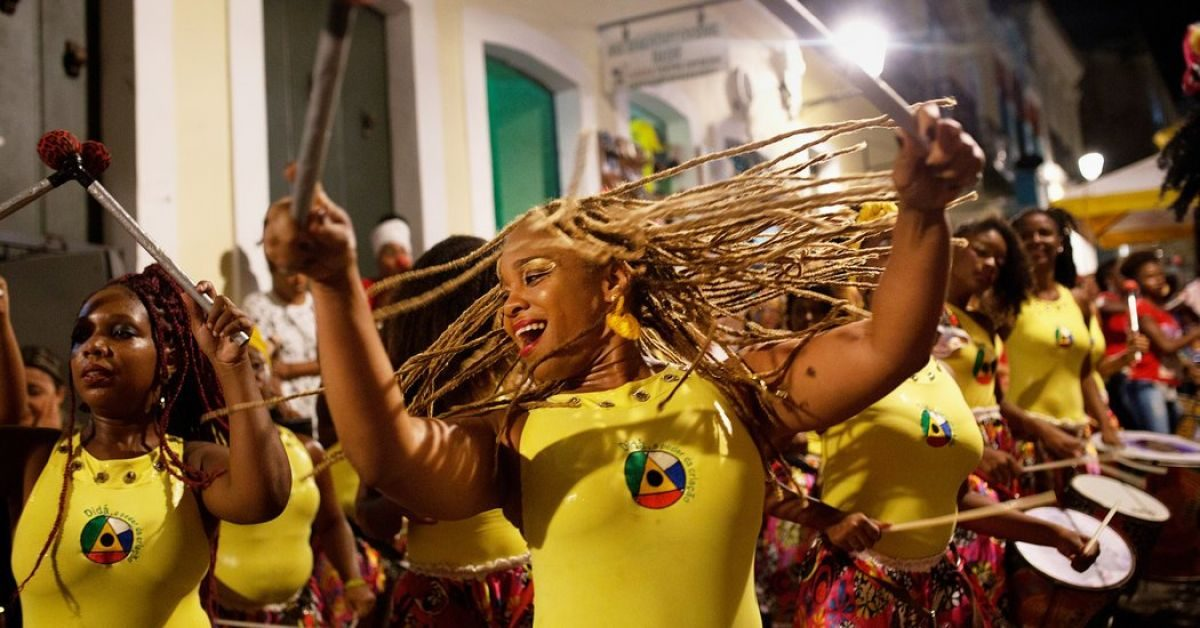 banda did225 the allfemale drum group thats rocking brazil
